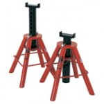 81209 - Norco - Pair of 10 Ton Capacity (each stand) Medium Height Jack Stands