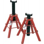 81208 - Norco - Pair of 10 Ton (each stand) Capacity Short Height Stands