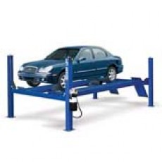Rotary Auto Lift 4 post Closed Front 14000lbs 206-1/2